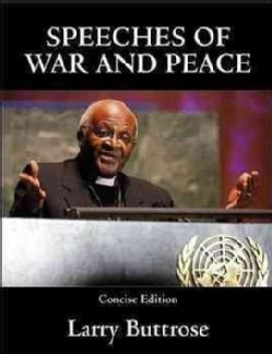 Speeches of War and Peace (Paperback)