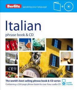 Berlitz Italian Phrase Book + Cd