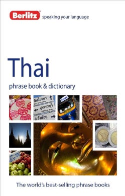 Berlitz Thai Phrase Book & Dictionary (Paperback)