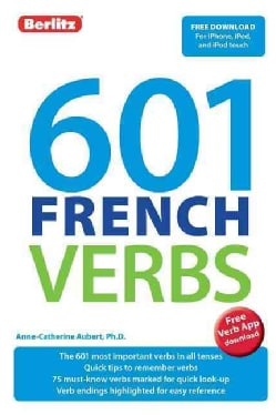 601 French Verbs (Paperback)