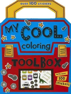 My Cool Coloring Toolbox Coloring Book (Paperback)