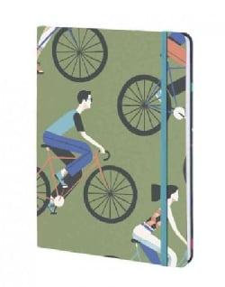 Cyclists - David Doran - Lined/Plain/dot Grid (Notebook / blank book)