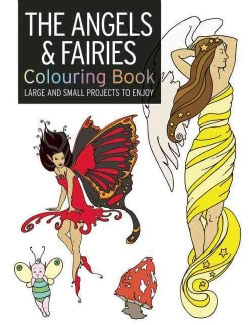 The Angel & Fairy Colouring Book (Paperback)