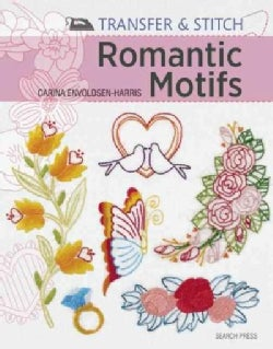 Romantic Motifs: Over 60 Reusable Motifs to Iron on and Embroider (Paperback)
