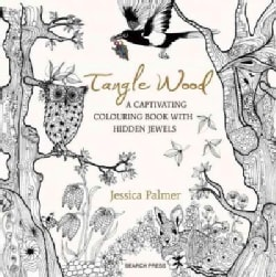 Tangle Wood: A Captivating Colouring Book With Hidden Jewels (Paperback)