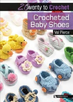 Crocheted Baby Shoes (Paperback)