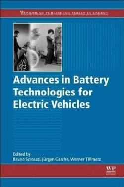 Advances in Battery Technologies for Electric Vehicles (Hardcover)