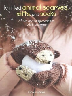 Knitted animal scarves, gloves and socks: 35 fun and fluffy creatures to knit and wear (Paperback)