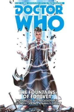 Doctor Who The Tenth Doctor 3: The Fountains of Forever (Hardcover)