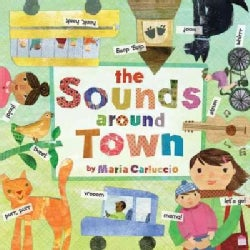 The Sounds Around Town (Board book)