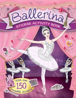 Ballerina Sticker Activity Book (Paperback)