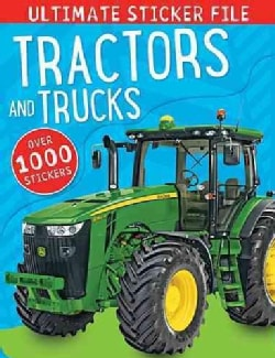 Ultimate Sticker File Tractors and Trucks (Paperback)