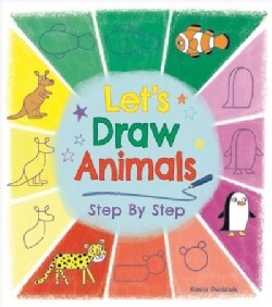 Let's Draw Animals Step by Step (Paperback)