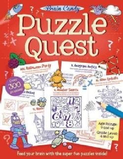 Brain Candy Puzzle Quest (Paperback)