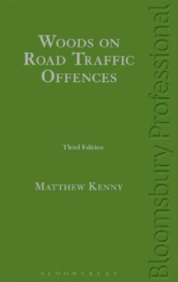 Woods on Road Traffic Offences (Hardcover)