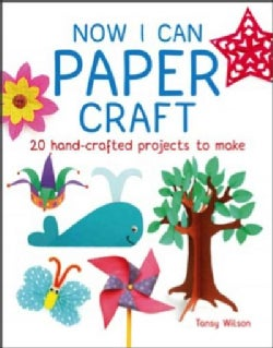 Now I Can Paper Craft: 20 Hand-Crafted Projects to Make (Paperback)
