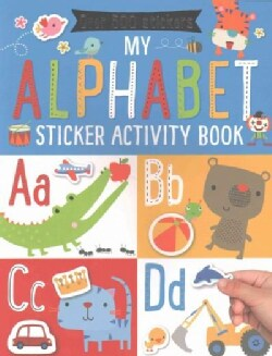 My Alphabet Sticker Activity Book (Paperback)