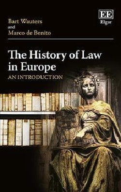 The History of Law in Europe: An Introduction (Hardcover)
