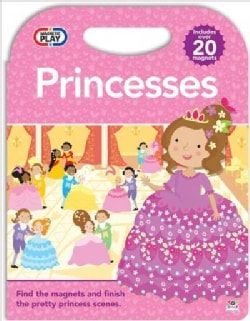 Magnetic Play Princesses (Hardcover)