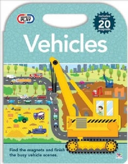 Magnetic Play Vehicles (Hardcover)