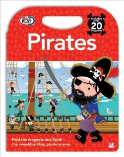 Magnetic Play Pirates (Hardcover)