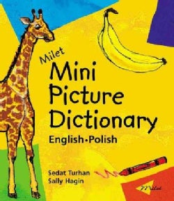 Milet Mini Picture Dictionary: English-Polish (Board book)