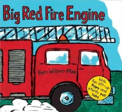 Big Red Fire Engine (Hardcover)