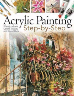 Acrylic Painting Step-by-Step (Paperback)