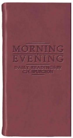 Morning + Evening: Burgundy (Paperback)