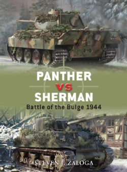 Panther vs Sherman: Battle of the Bulge 1944 (Paperback)