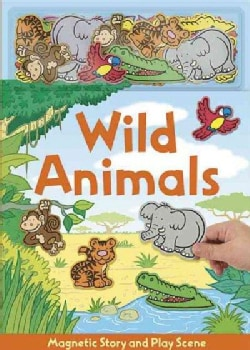 Wild Animals - Magnetic Book