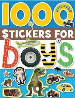 1000 Stickers for Boys (Paperback)
