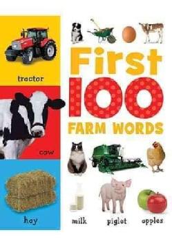 First 100 Farm Words (Board book)