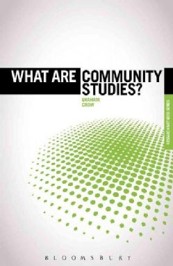 What Are Community Studies? (Paperback)