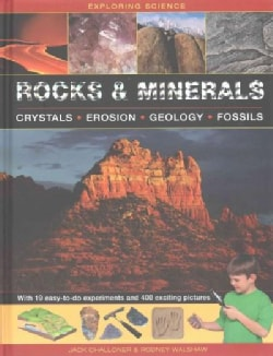 Rocks & Minerals: Crystals-erosion-geology-fossils (Hardcover)