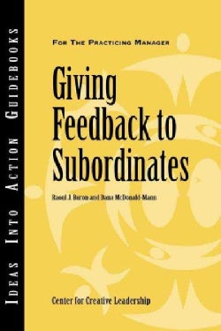 Giving Feedback to Subordinates (Paperback)