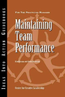 Maintaining Team Performance (Other book format)