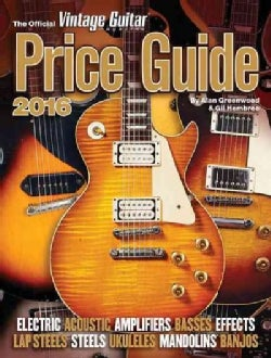 The Official Vintage Guitar Magazine Price Guide 2016 (Paperback)
