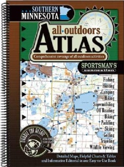 Southern Minnesota All-Outdoors Atlas (Paperback)