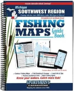Michigan Southwest Region Fishing Maps Guide Book (Paperback)