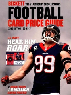Beckett Football Card Price Guide, 2016-17 (Paperback)
