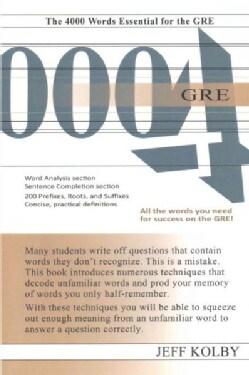 GRE 4000 (Paperback)