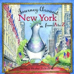 Journey Around New York from A to Z (Hardcover)