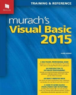 Murach's Visual Basic 2015: Training & Reference (Paperback)