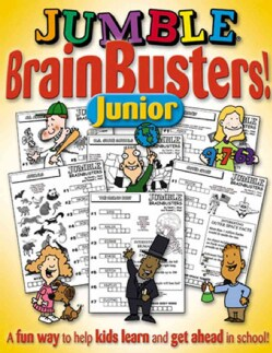 Jumble Brain Busters Junior: Beginner Puzzles (Paperback)