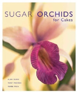 Sugar Orchids for Cakes (Hardcover)