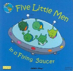 Five Little Men in a Flying Saucer (Board book)