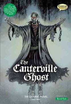 The Canterville Ghost the Graphic Novel: Quick Text Version (Paperback)