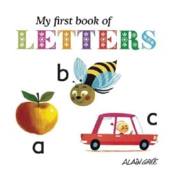 My First Book of Letters (Board book)