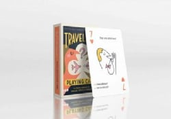 Traveler's Playing Cards: 54 Useful Phrases in English, French and Spanish (Cards)